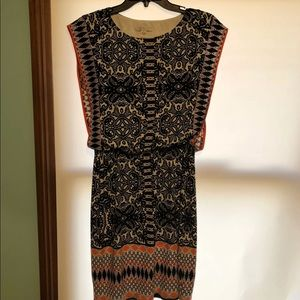 London Style Dresses - Patterned dress